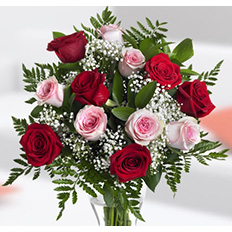 Flower Bouquets, Mixed roses