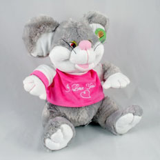 FTD service: Flowers and toy delivery - Send Mouse toy in Ukraine