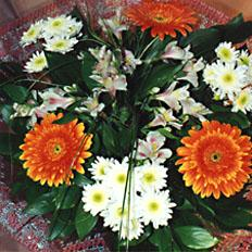 Flower Bouquets, Chrysanthemum and Gerbera bouquet