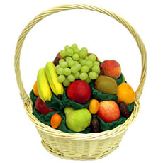 Create Gift Basket, Seasonable Fruits