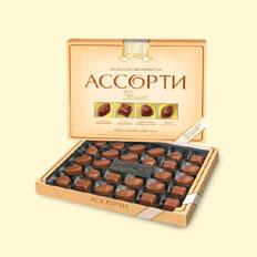 Ассорти Рошен молочный шоколад доставка в Украине