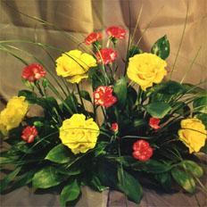 Send bouquet of carnations and roses to ,  Ukraine