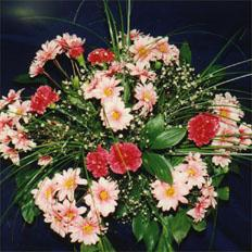 Flower Bouquets, Sweet Chrysanthemums and Carnations